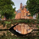Brujas romantica, Patrimonio Flandes Bélgica © Wolfgang Staudt (https://creativecommons.org/licenses/by-nc-nd/2.0/)