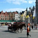 Plaza mercado de Brujas, Patrimonio Flandes Belgica  © Arnie J. (https://creativecommons.org/licenses/by-nd/2.0/)