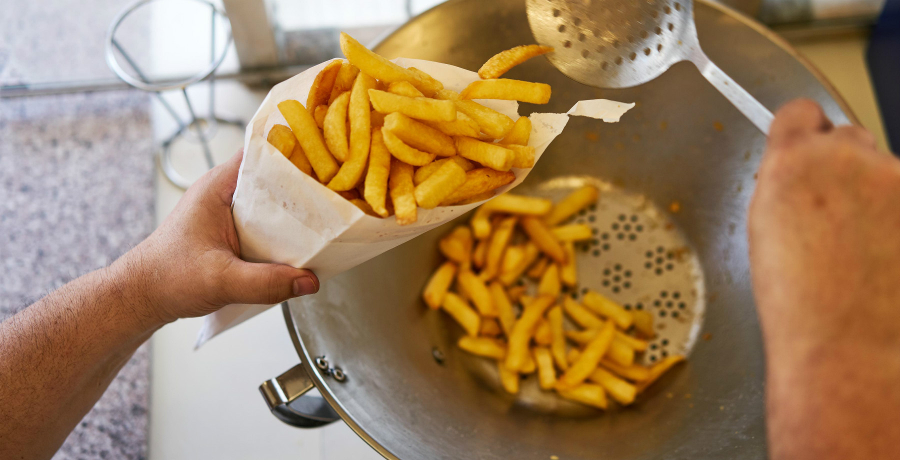 Belgian fries