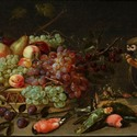 Clara Peeters - Still life with Sweets, Pomegranate, guilt Cup and China - Oil on Pannel - ©Fundacion March