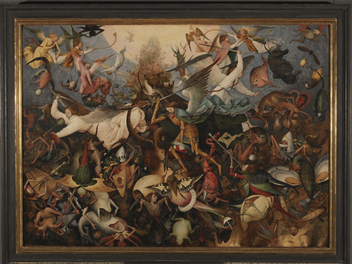 The Fall of the Rebel Angels (c)KMSKB, photo J. Geleyns-Ro scan s, mestres flamencs, museu art pintura Anvers