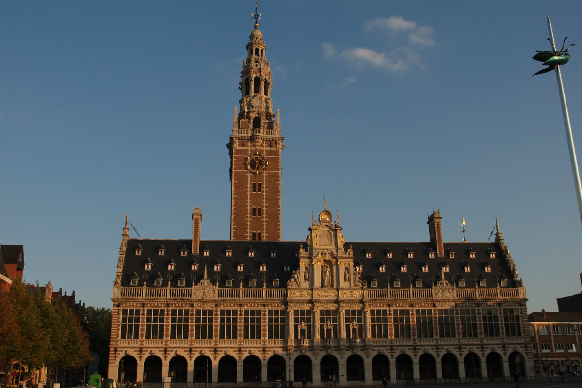 Universiteitsbibliotheek en -toren Leuven - CC License - Photo credits Rogiro