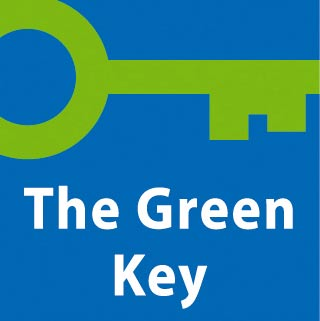 Green key label