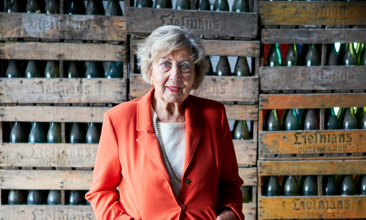 Rosa Merckx, 93 year old brewster of brewery Liefmans