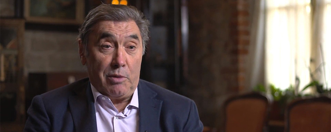 Portrait of Eddy Merckx