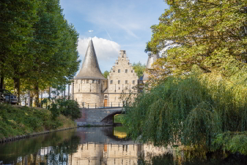 The 'Gravensteen' castle in Ghent - photo VISITFLANDERS