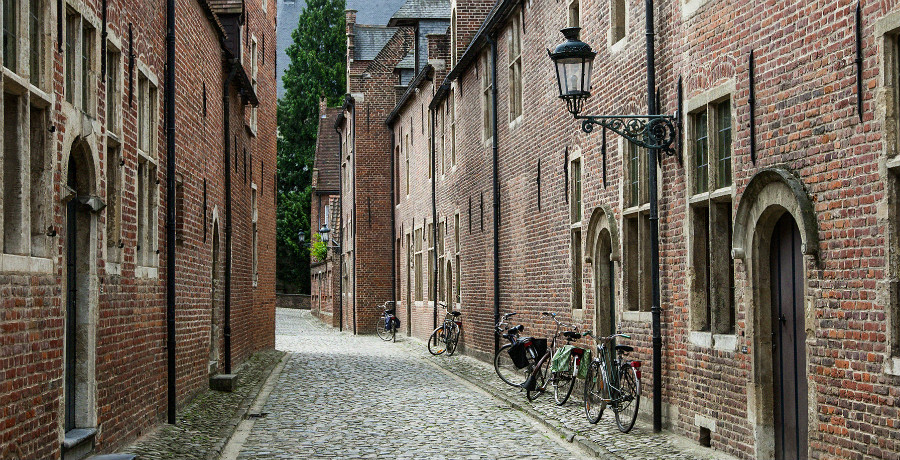 The Great Beguinage in Leuven (Het Groot Begijnhof)