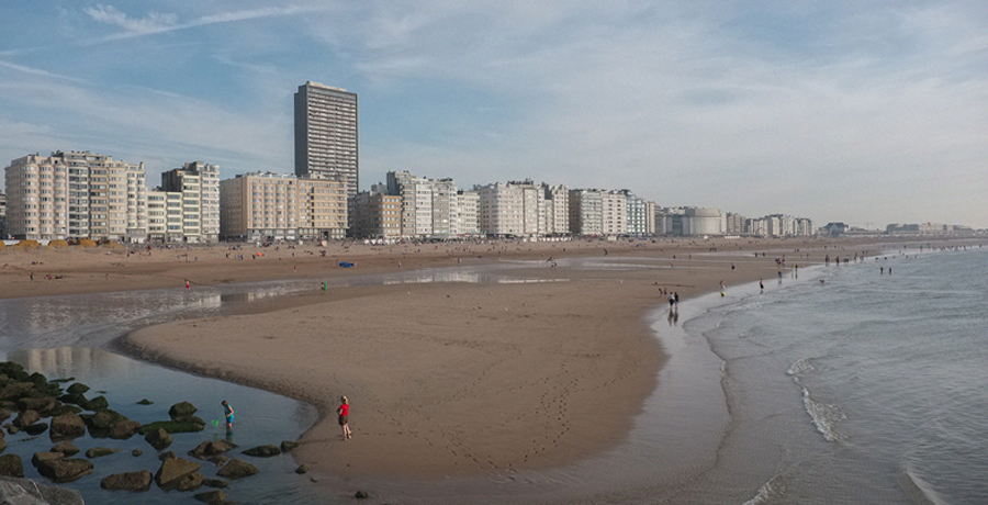 view on Ostend