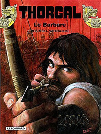 Thorgal - ©Cover Le Barbare (2002 Lombard Editions)