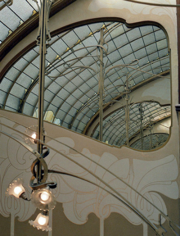 Victor Horta Museum 042 - detail of the interior - CC license - Credits Photo MKSFCA