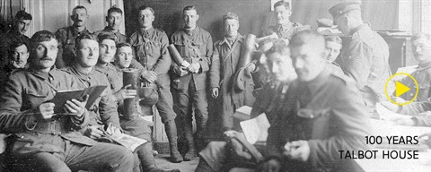 Guards In Canteen Talbot House during WWI (c) Talbot House