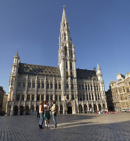 City Hall, Grand Place Brussels © www.milo-profi.be