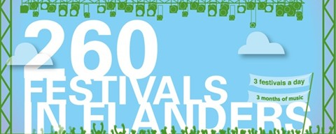 260 Festivals in Flanders