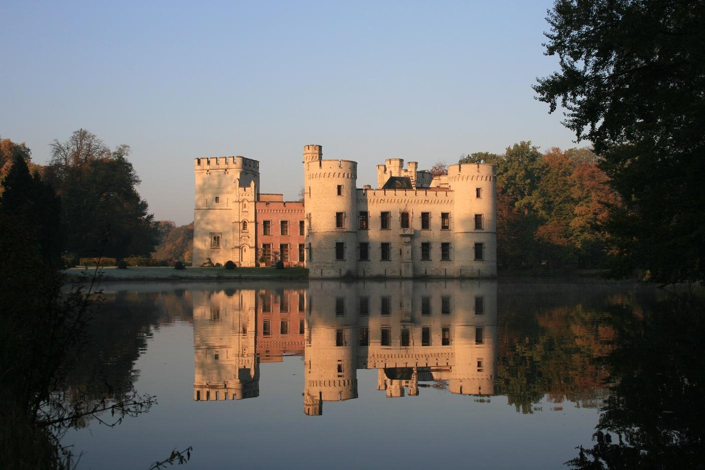 castle in belgie
