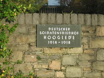 German Military cemetery Hooglede