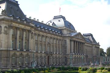 Royal Palace Brussels: view outside - BITC Brussels, O.Van de Kerchove