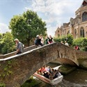 Smallest bridge in Flanders - Bruges