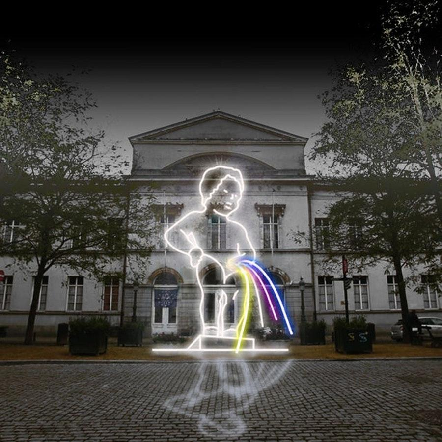 Bright Brussels. Festival of Light