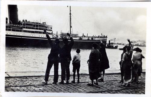 A departure of the Red Star Line - Photo credits RSL Museum