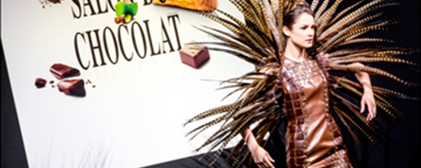 Salon du Chocolat: chocolate fashion show - ©Eric Danhier