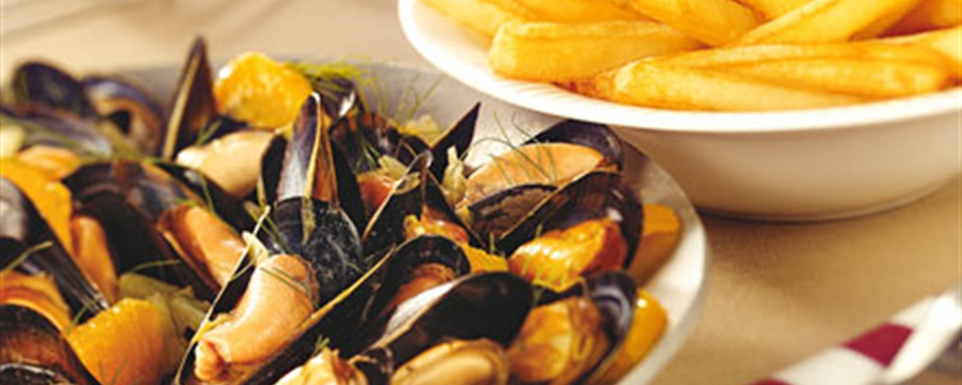 Belgian Mussels and Fries - 3