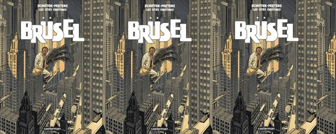 cover comic Brüsel by Schuiten-Peeters