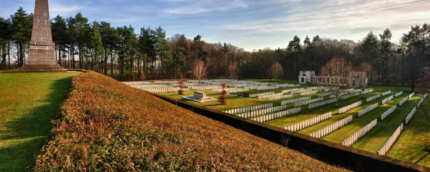 Buttes new Brititsh Cemetery - Polygon Wood