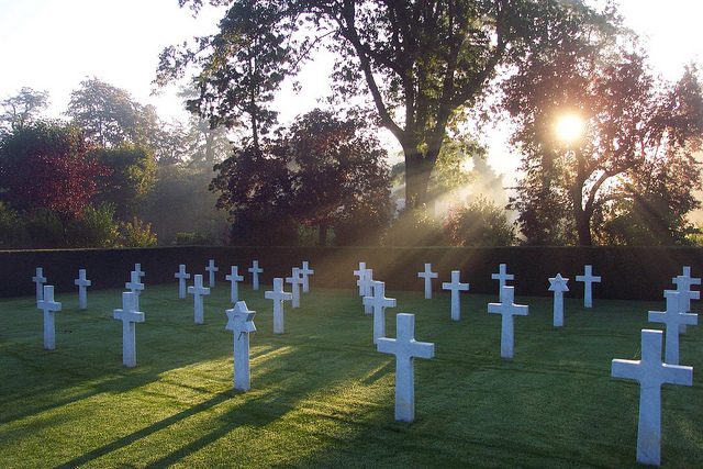 Flanders Field Flanders Field American Cemetery and Memorial Waregem (c) American Battle Monuments Commission