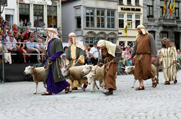 The call of Abraham - Hanswijk Procession - Mechelen