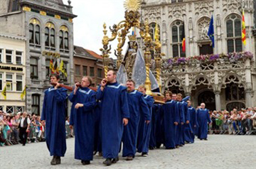 The Virgin Mary - Hanswijk Procession - Mechelen