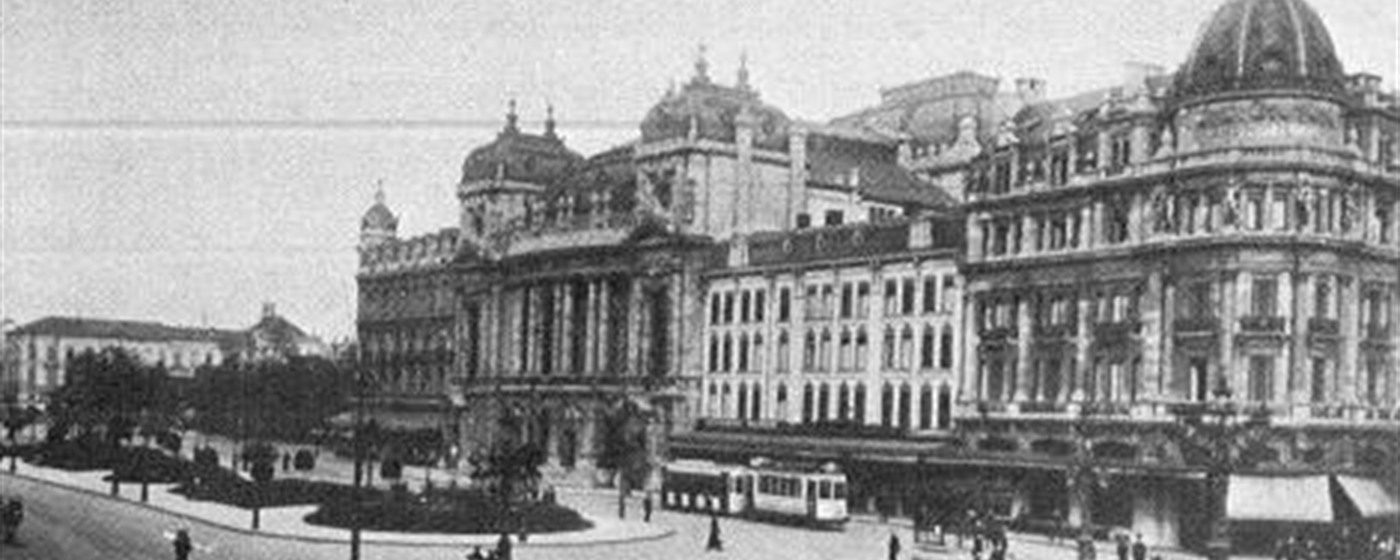 History - old picture of Brussels