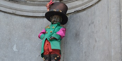 Magical dress for Manneken-Pis