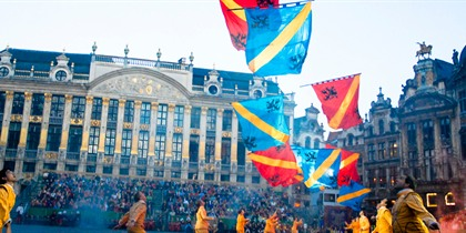 Ommegang: Brussels' biggest religious procession
