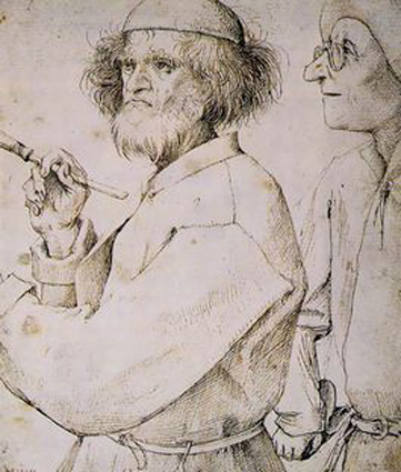 Pieter Bruegel the Elder - ca. 1565 (self portrait)