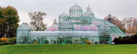 Royal Greenhouses of Laeken - ©Olivier Polet