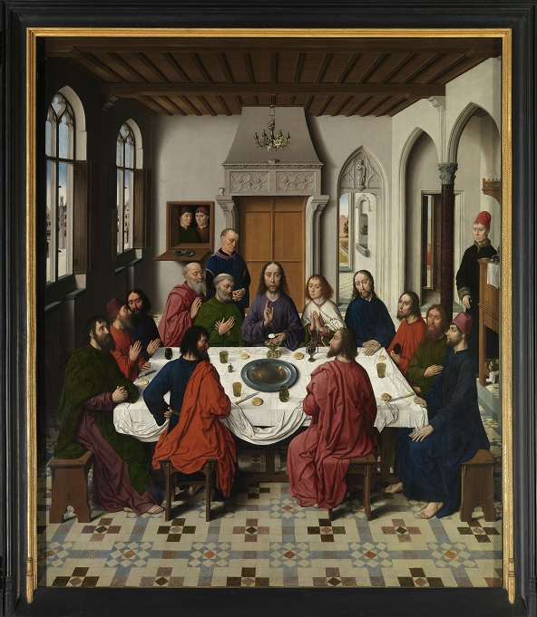 The Last Supper Museum M(c)www.Lukasweb.be-Art in Flanders vzw photo Hugo Maertens, http://www.lukasweb.be/en/photo/altarpiece-of-the-holy-sacrament-0