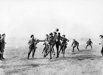 The Christmas Truce in Flanders Fields - ©Imperial War Museum (Q31576)