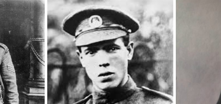 Three Welshmen awarded Victoria Cross on the first day