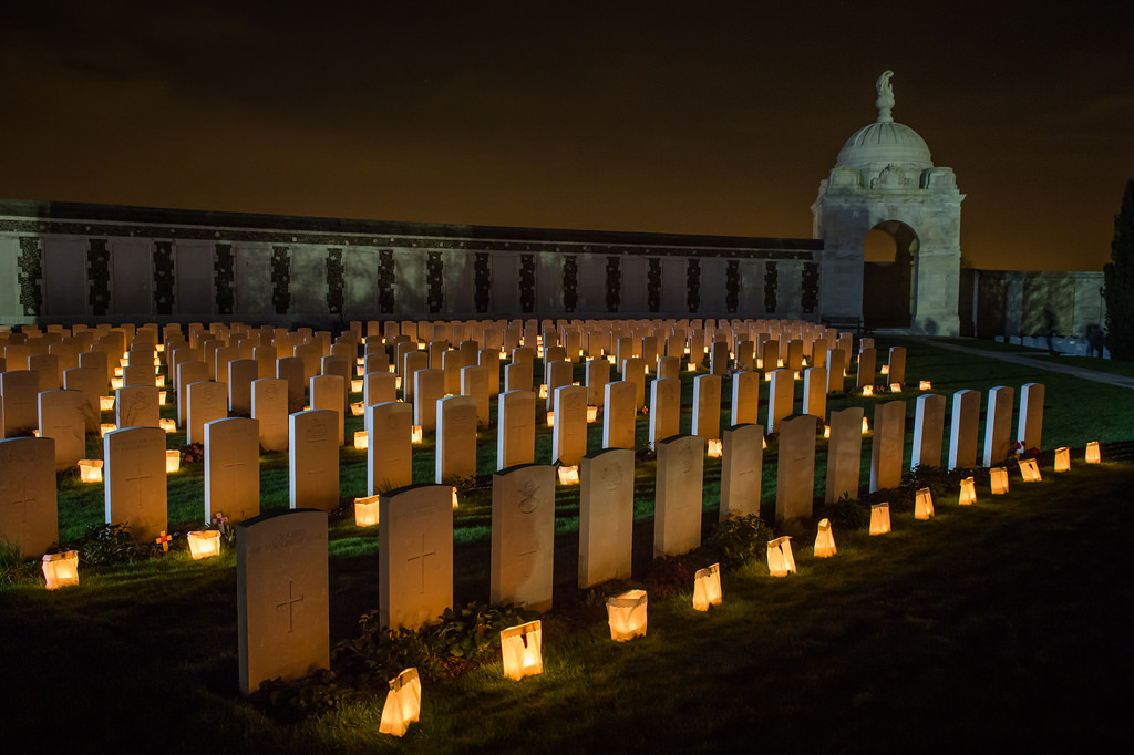 Tyne Cot Cemetery - Lightfront