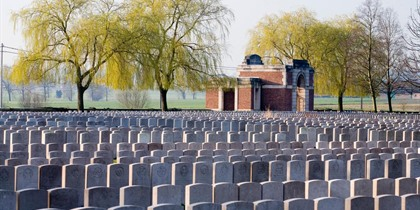 Lijssenthoek Military Cemetery and visitor Centre