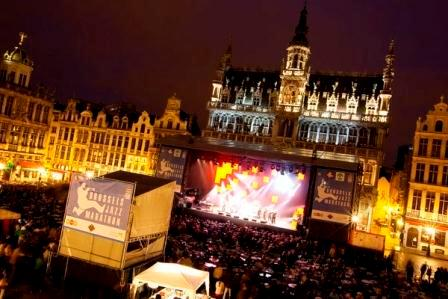 Brussels Jazz Marathon Grand Place - ©Philipp Swiggers