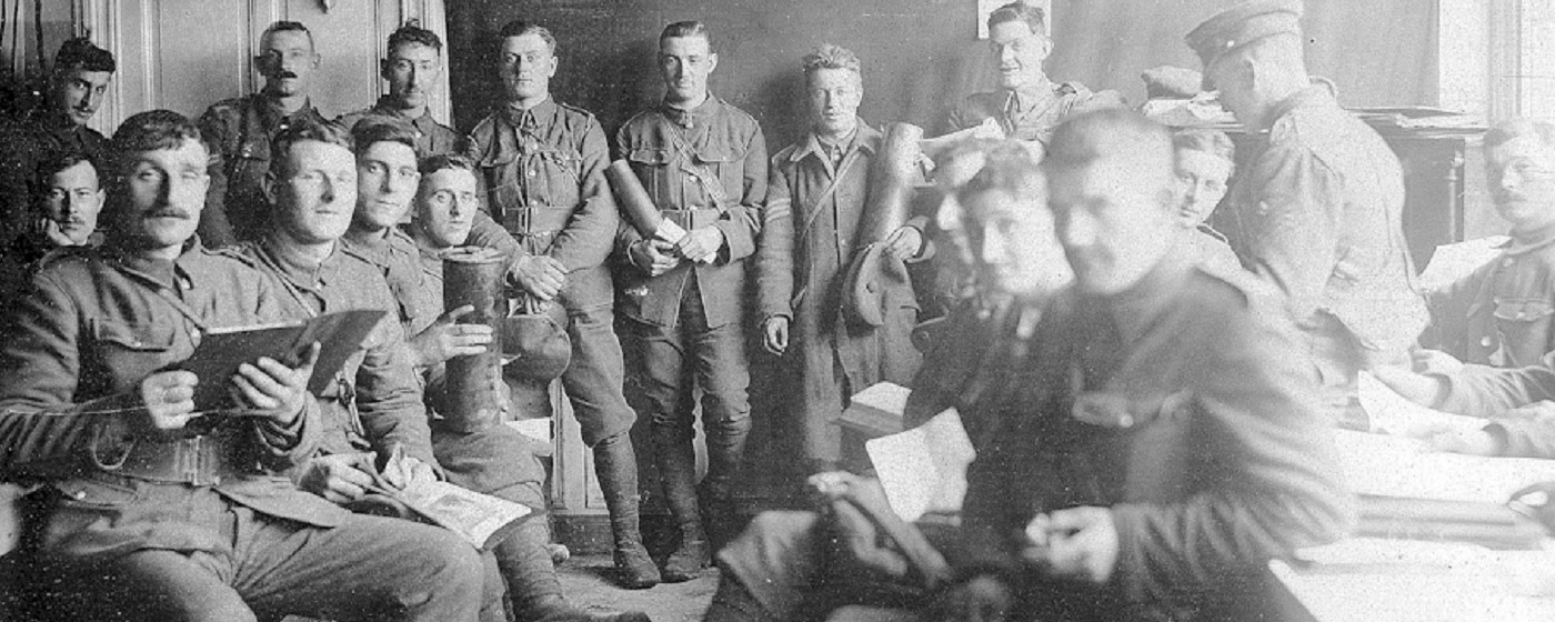 Guards In Canteen Talbot House during WWI (c)Talbot House