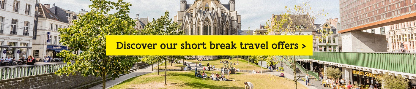 Enjoy a short break in Ghent