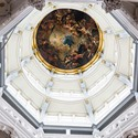 painted ceiling in the Cathedral of our Lady Antwerp