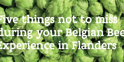 Your Belgian Beer Experience