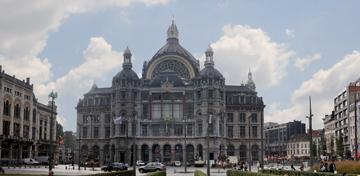 Central station Antwerp © Antwerp Tourism & Convention