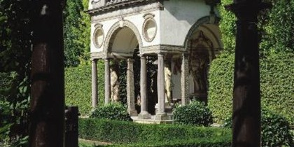 Experience the restoration of the portico and the garden pavilion (Rubens House)