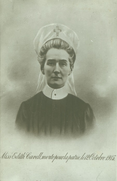 Edith Cavell ©CollectieInFlandersFieldsMuseumIeper