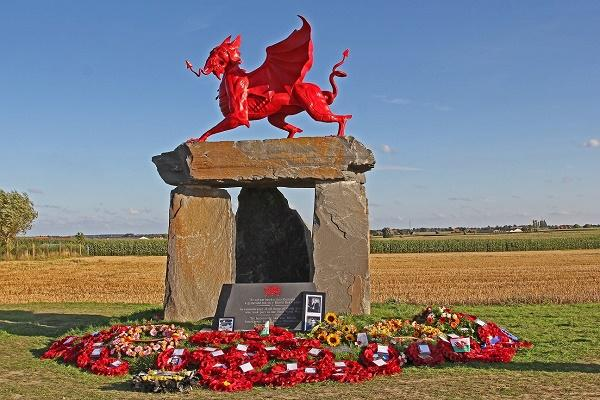 Welsh National Memorial Park - Langemark