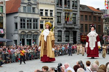 Dancing Giants - Hanswijk Procession - Mechelen